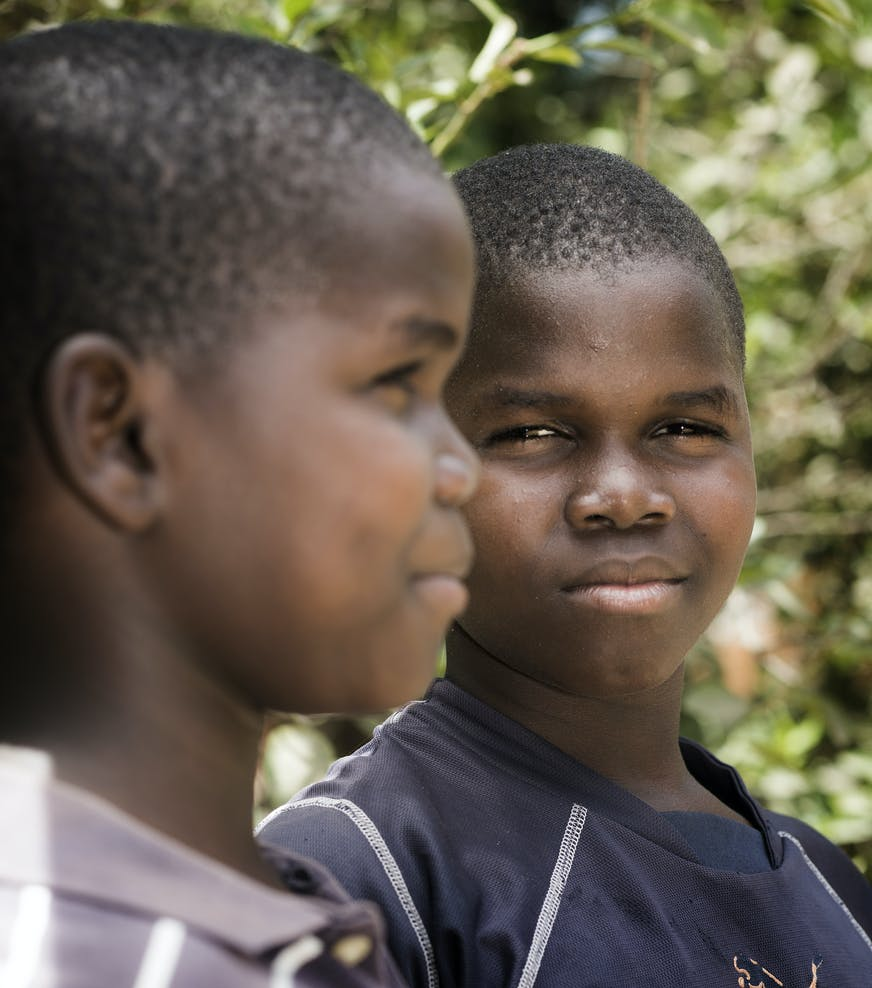 Tweelingbroertjes, Guinee Bissau, SOS Kinderdorpen