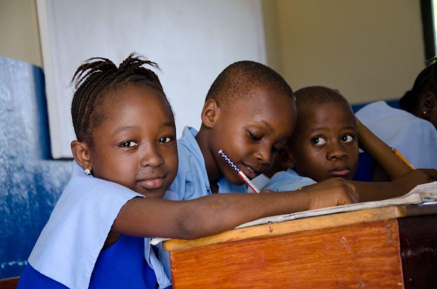 Kinderen op school in Afrika - SOS Kinderdorpen