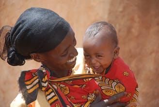 moeder en kind, Peru, SOS Kinderdorpen