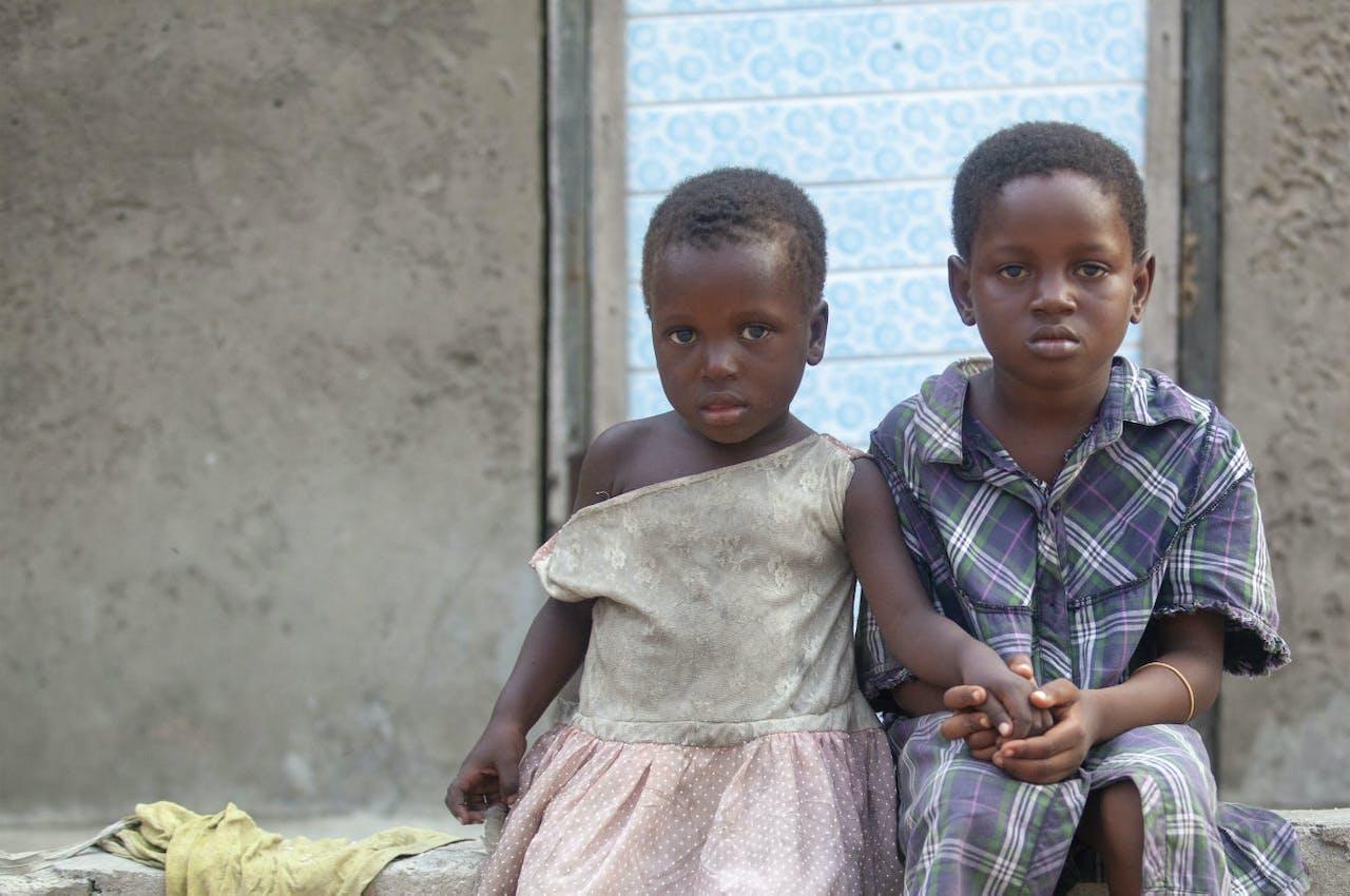 Doneer voor kinderen als Mia en Efi uit Ghana.